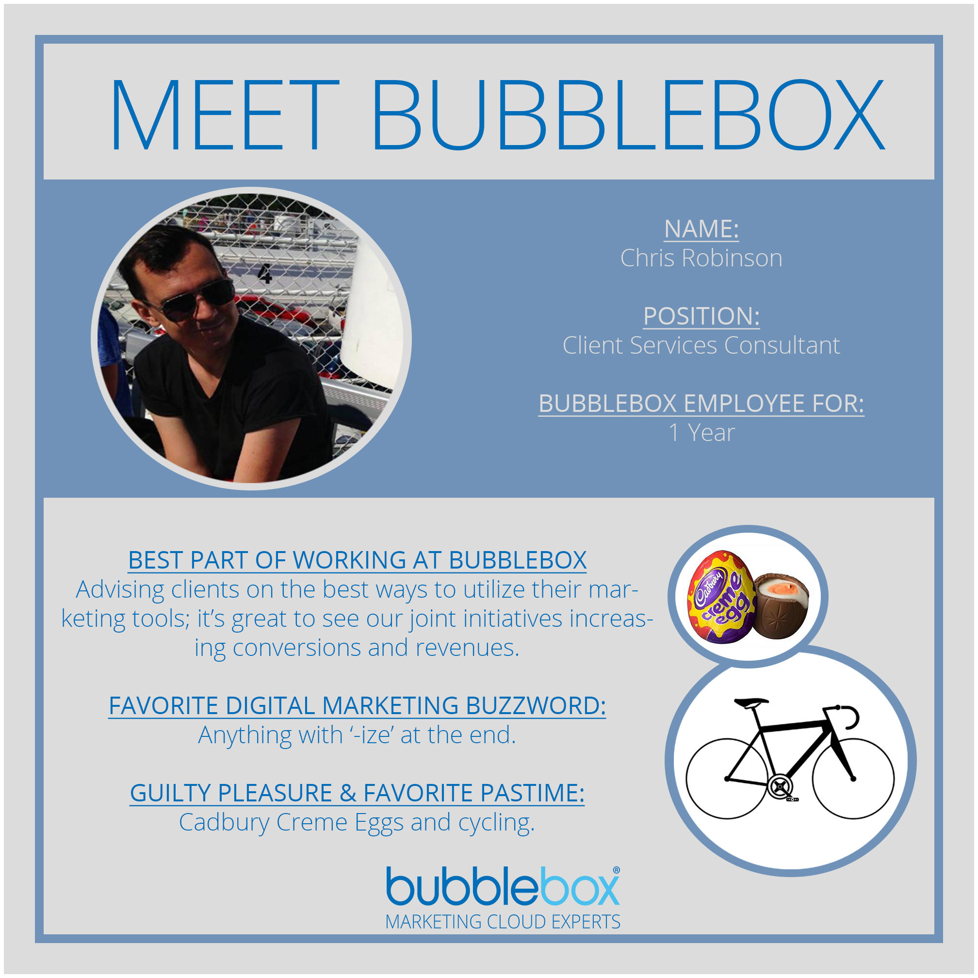 Meet Bubblebox Chris