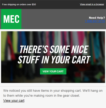 MEC Cart Recovery Image