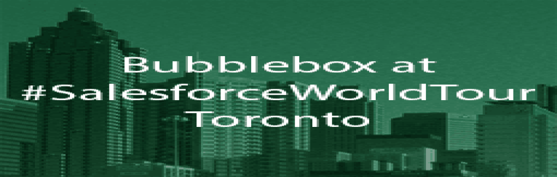 Bubblebox lands in T Dot!